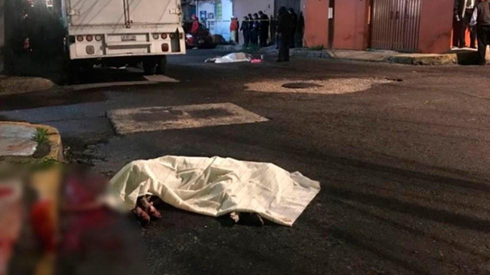 Matan a dos hombres y a un perro en Iztapalapa - Foto de Excélsior