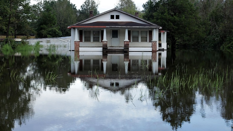 Estiman daños por Florence en hasta 50 mil millones de dólares - Foto de AFP /Getty Images