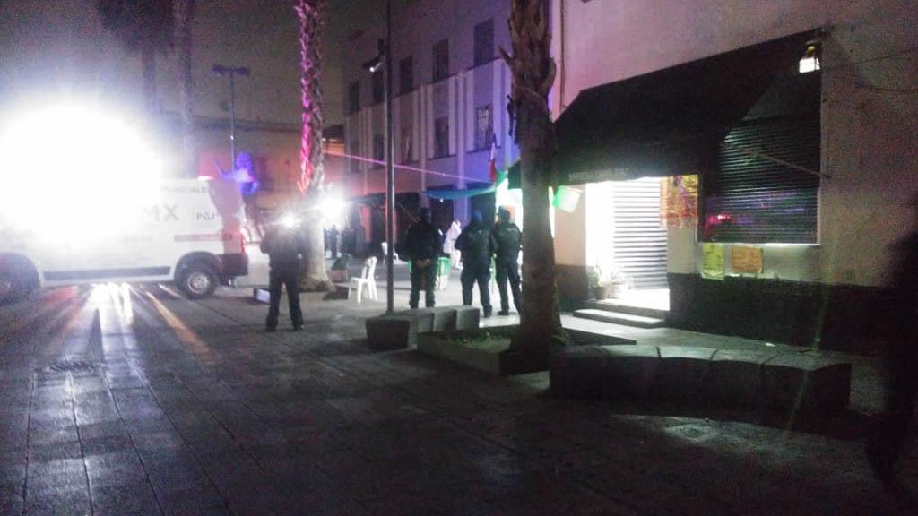Balacera en Garibaldi deja tres muertos y siete heridos