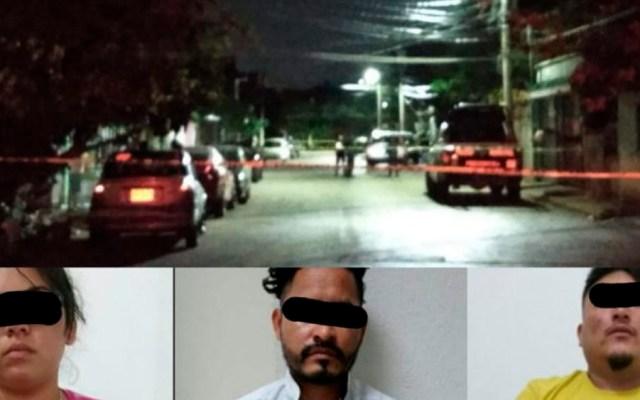 Balaceras dejan un lesionado y tres detenidos en Cancún