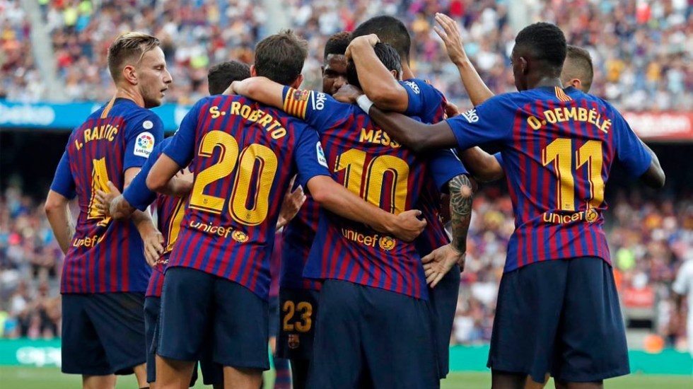 Girona vs Barcelona será el primer partido de La Liga en EE.UU. - Foto de @FCBarcelona