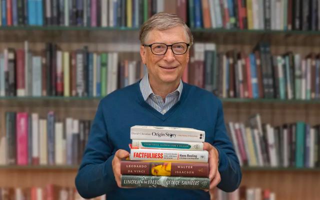 Los cinco libros que Bill Gates te recomienda para este verano - Bill. Gates. Foto de Times