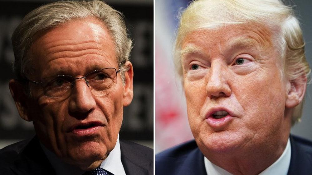 Trump pide cambiar leyes contra difamación por nuevo libro de Woodward - Foto de AFP