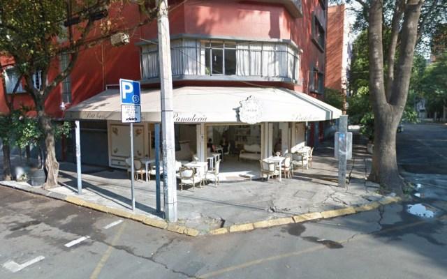 Asaltan cafetería en la Roma - Captura de Google Maps
