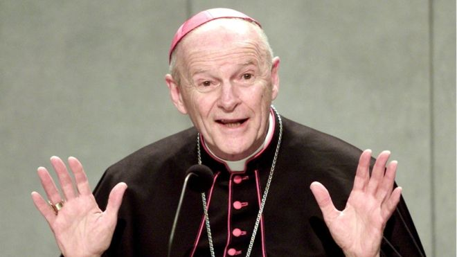 El Papa ordena abrir investigación sobre McCarrick