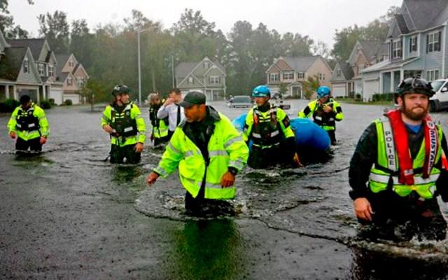 Declaran estado de emergencia por Florence en Carolina del Sur