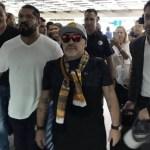 Detienen a Maradona en Argentina