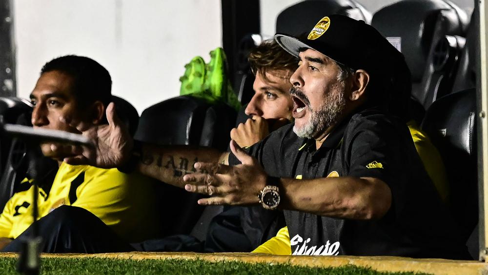 Maradona se pierde la vuelta de Cuartos de Final con Dorados - Foto de AFP