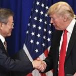 Trump merece el Premio Nobel de la Paz: Moon Jae-in - Foto de AFP