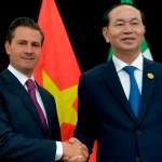 EPN lamenta muerte de presidente de Vietnam