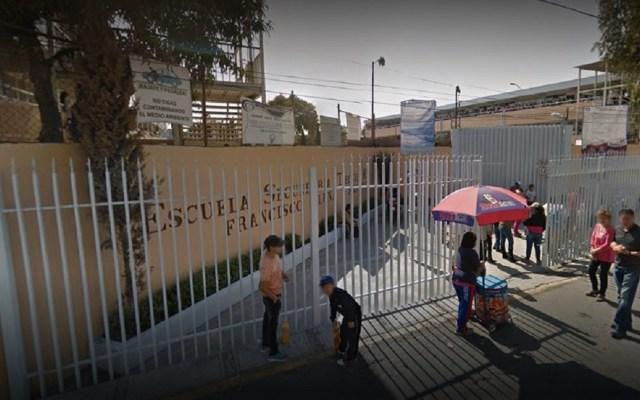 Detienen a adolescente de 15 años por disparar afuera de secundaria - Escuela Secundaria Técnica No. 89. Foto de Google Maps