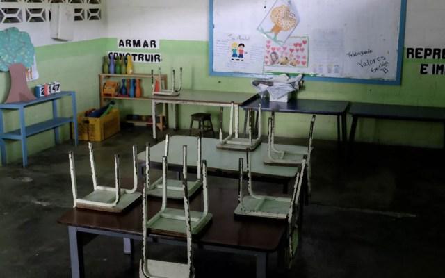 Venezuela inicia clases con los salones casi vacíos - Foto de Reuters