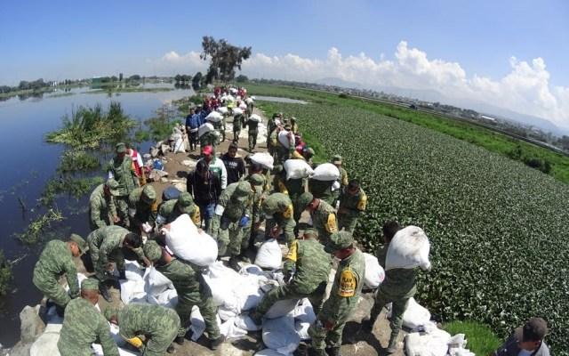 Estabilizan fisura en Río Lerma para iniciar su reparación - Foto de Edomex Informa