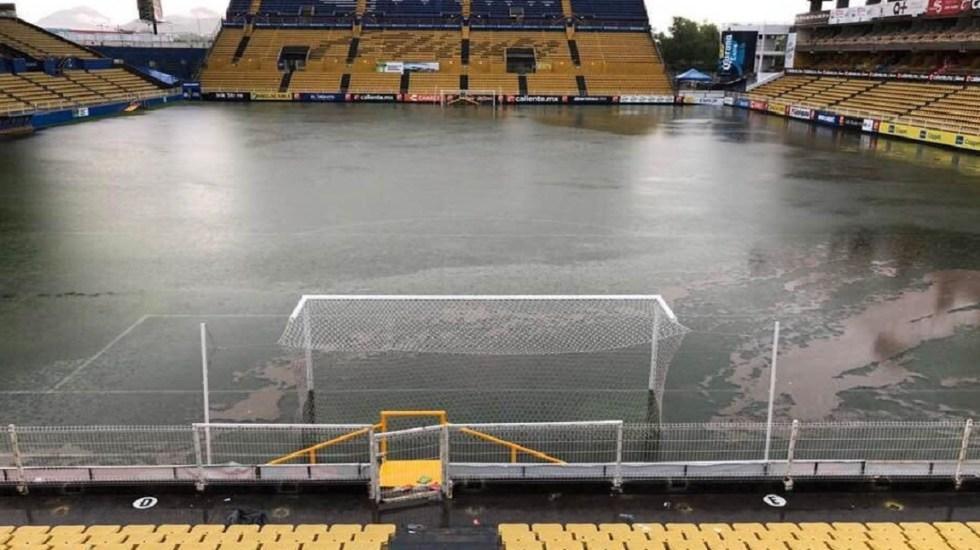 Se recupera estadio de Dorados tras inundaciones en Sinaloa - Foto de @loretro1