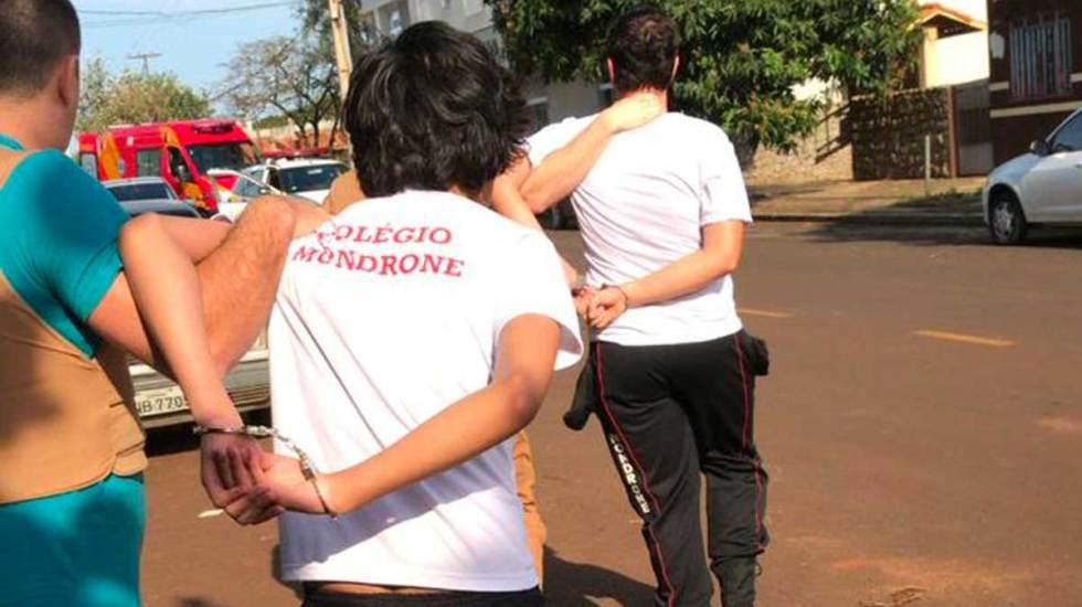 Estudiante de Brasil abre fuego en clase y hiere a dos compañeros - Foto de Twitter