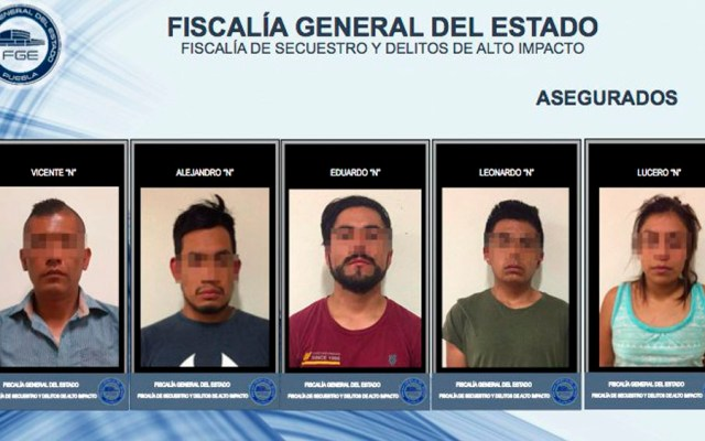 Detienen a comandante de Acatzingo tras desmantelar a grupo delictivo - Foto de @FiscaliaPuebla
