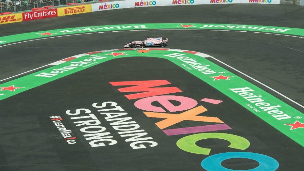 Gobierno federal sigue en busca de opciones para mantener Fórmula 1 - GP de México