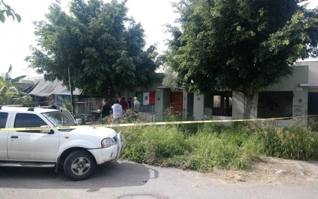 Encuentran fosa clandestina en casa de Tlajomulco - Foto de @Hugo_Ornelas