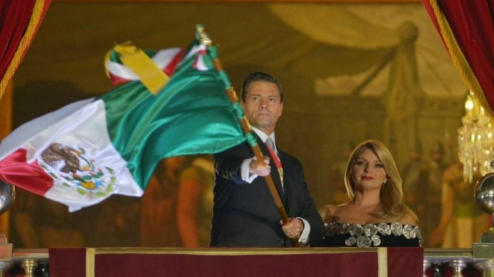 La hora en que Peña Nieto dará el grito de independencia - Foto de Internet