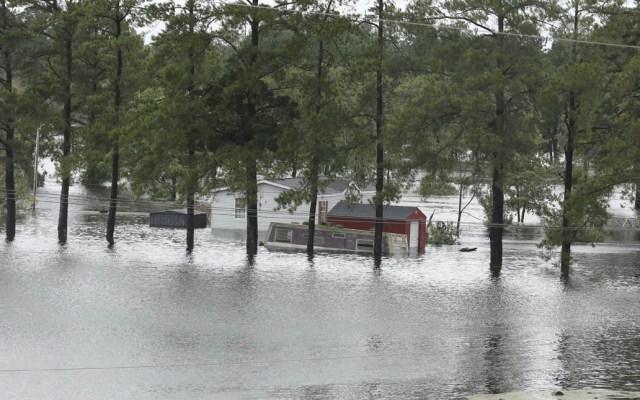 #Video La devastación de Florence en Carolina del Norte - Foto de AFP / Alex Edelman