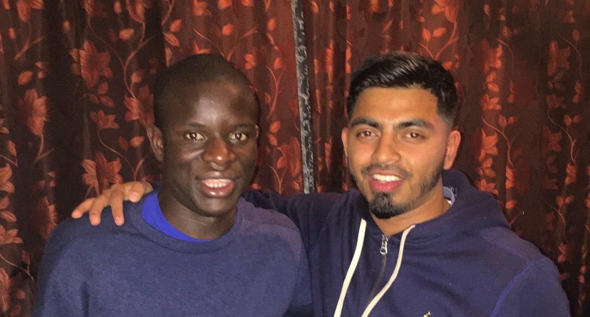 Cómo Kanté acabó cenando y jugando al FIFA con unos desconocidos
