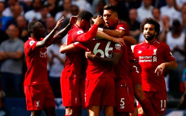 Liverpool es líder de la Premier League tras vencer al Tottenham - Foto de @LFC
