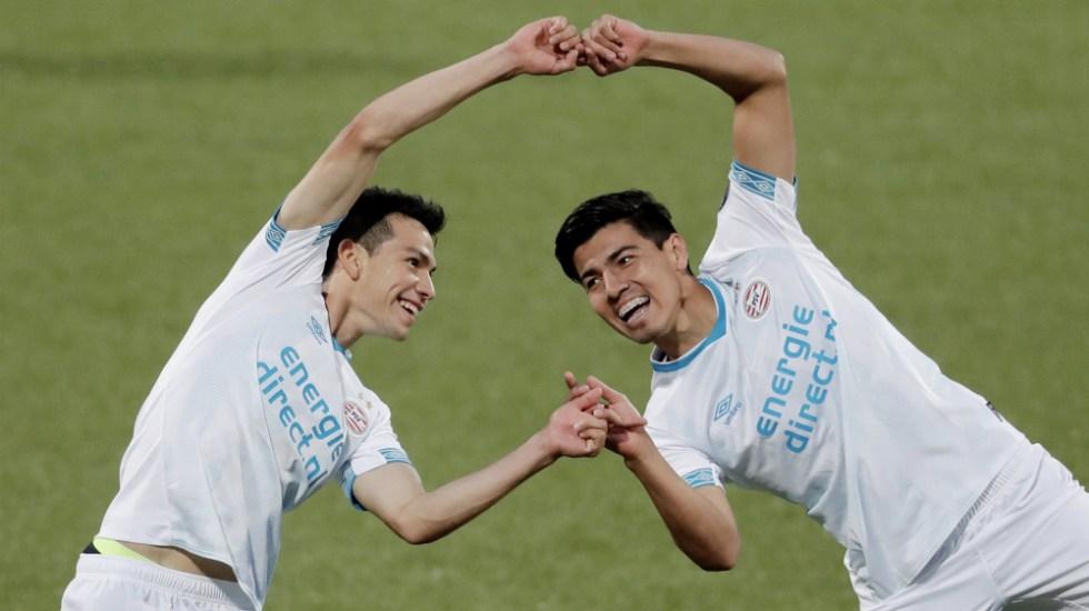 Erick Gutiérrez tiene debut soñado con el PSV Eindhoven - Foto de @psveindhoven
