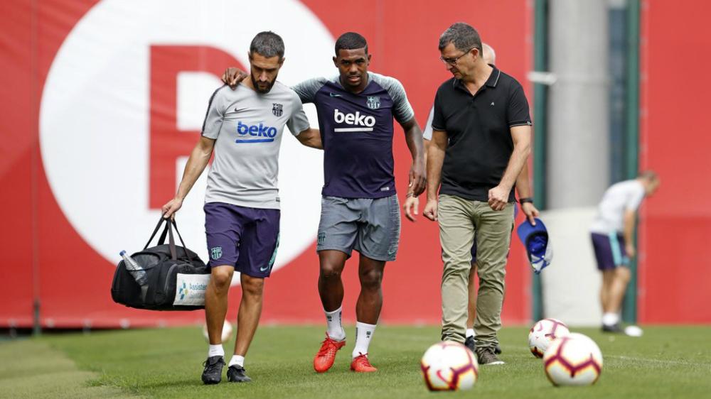 Malcom será baja en Barcelona por lesión - Foto de FC Barcelona