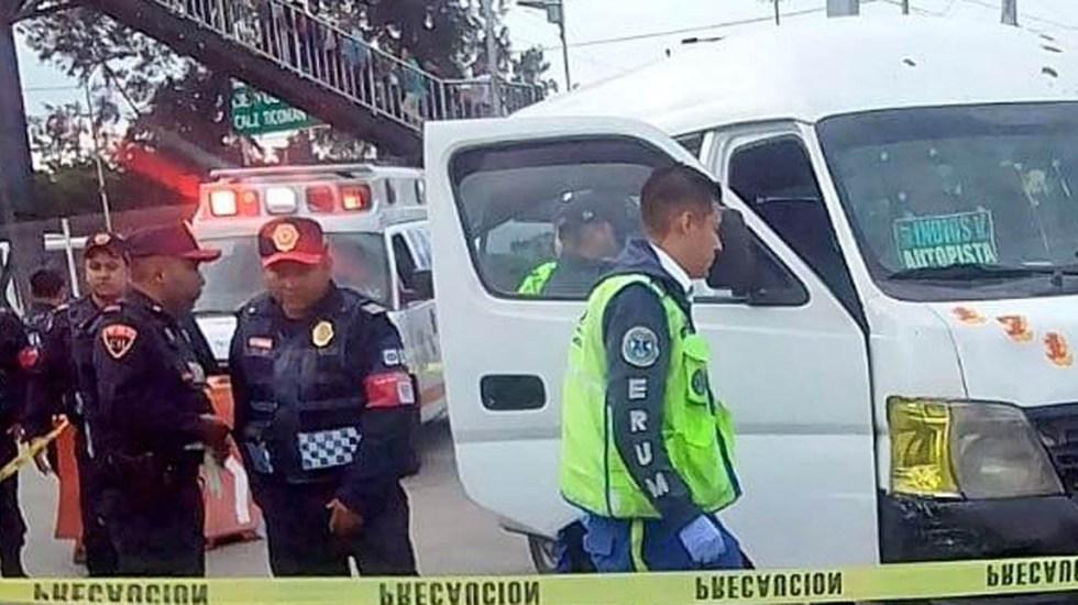 Matan a pasajero durante asalto en la México-Pachuca - Foto de @alertasurbanas