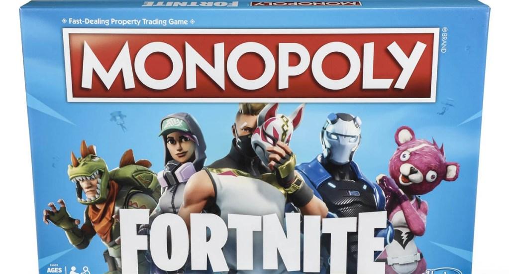 Hasbro lanzará edición de Monopoly basada en 'Fornite' - Foto de Epic Games/Hasbro