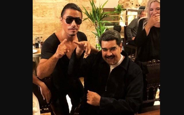 #Video Nicolás Maduro come en restaurante de Salt Bae en medio de crisis venezolana - Foto de Twitter