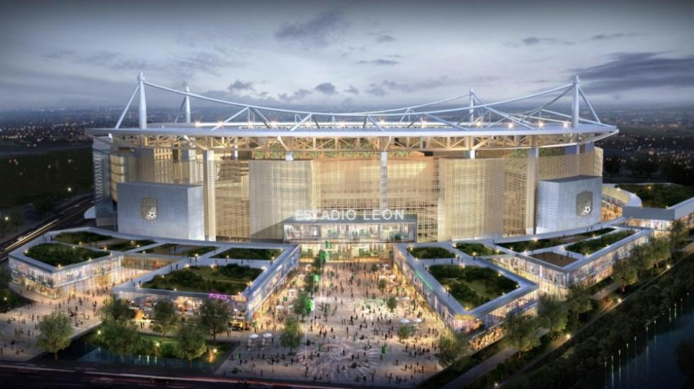 León presenta proyecto de su nuevo estadio previsto para 2021 - Foto de @clubleonfc