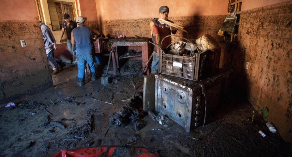 Suman ocho muertos por desbordamiento en Peribán. Noticias en tiempo real