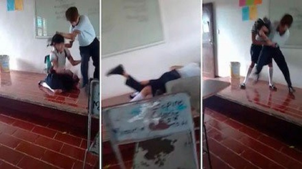 Piden seguridad especial para alumno agresor de Quintana Roo - Captura de pantalla