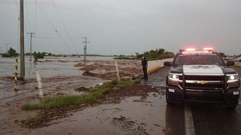 Policía Federal bloquea circulación en carreteras de Sonora y Sinaloa - Foto de Policía Federal