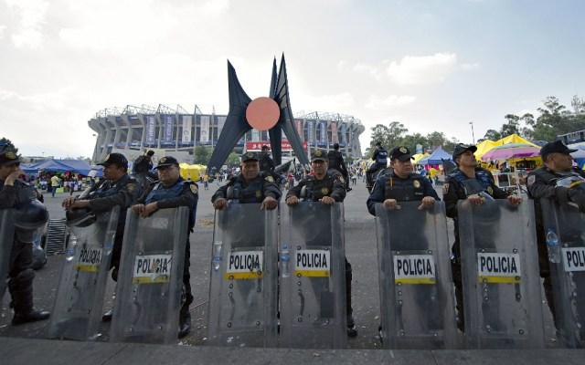 Seguridad en Clásico Nacional será resguardada por dos mil 700 policías - Foto de Mexsport