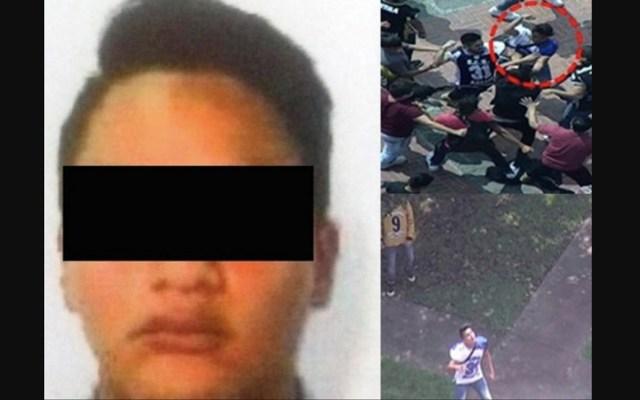 Vinculan a proceso a porro identificado en agresiones de la UNAM - Foto de Excélsior