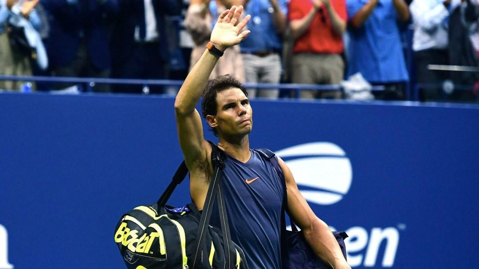Nadal abandona por lesión y Del Potro va a la final del US Open - Foto de Sarah Stier/GETTY IMAGES NORTH AMERICA/AFP