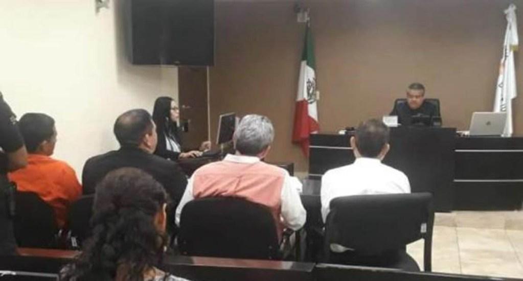 """Reaprehenden a """"El parra"""", ahora por homicidio - Audiencia de Formulación de Imputación de Óscar N. Foto de La Crónica"""