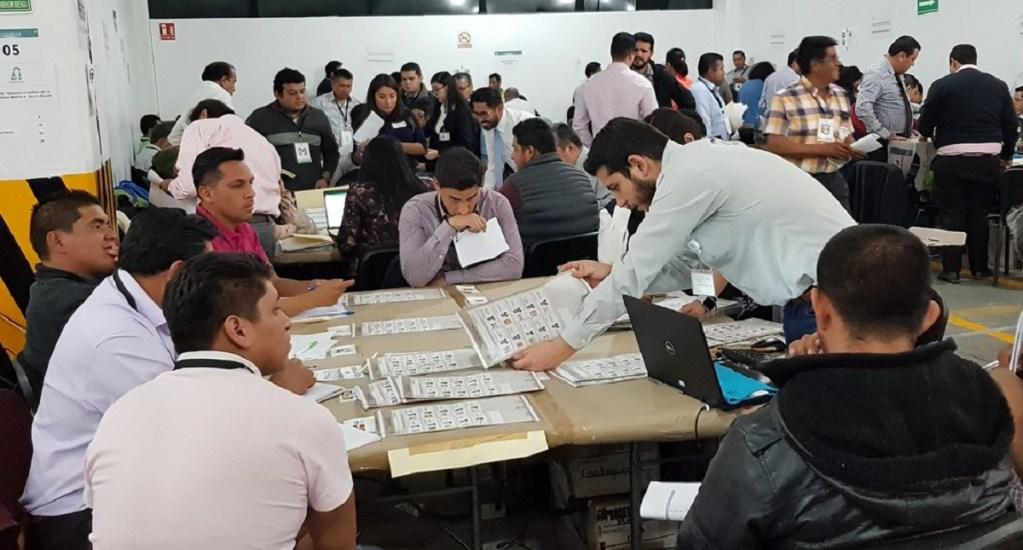 Concluye Tribunal Electoral recuento de votos de la elección en Puebla. Noticias en tiempo real