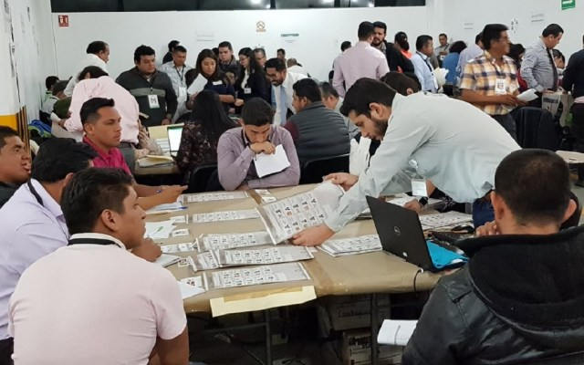 Inicia segundo día de recuento de votos de Puebla - anulacion elecciones puebla pan