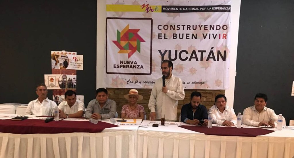 René Bejarano defiende cesión de senadores del PVEM a Morena - Foto de @mnedf