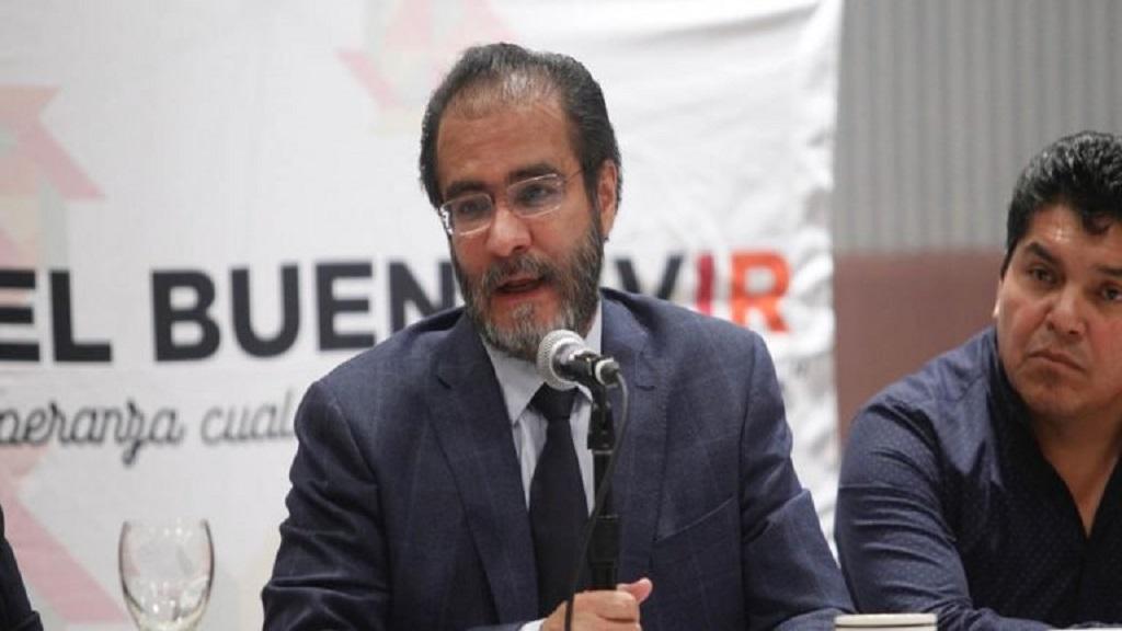 Renuncian 39 militantes al PRD para sumarse a Morena - René Bejarano. Foto de Quadratín