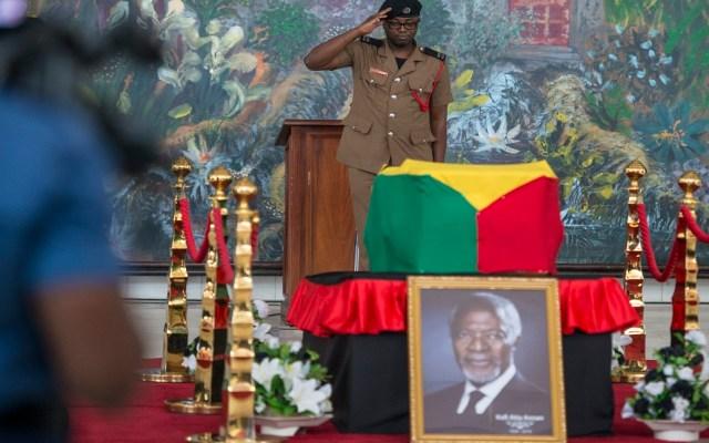 Rinden homenaje a Kofi Annan en su funeral - Foto de AFP / Cristina Aldehuela