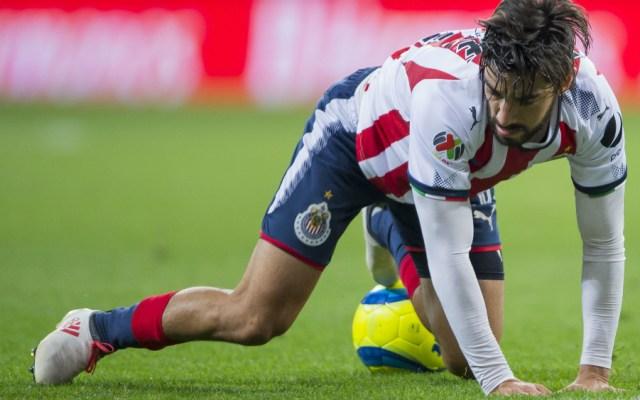 Rodolfo Pizarro es baja del Tricolor por lesión - Foto de Mexsport