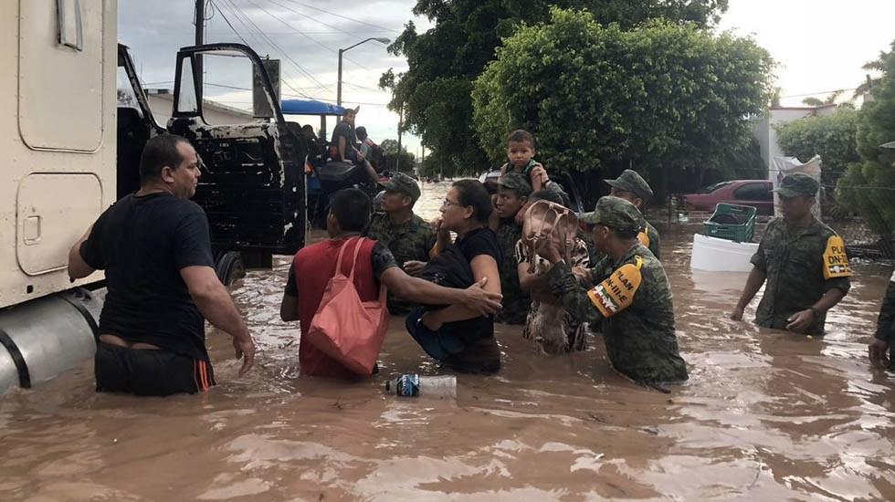 Emergencia se extiende a más ciudades de Sinaloa y Sonora - Foto de Sedena