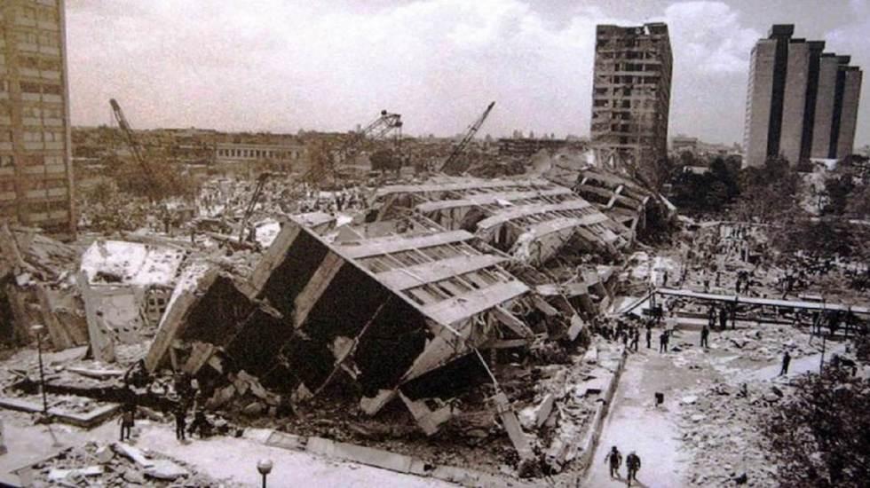 ¿Qué ocurrió el 19 de septiembre de 1985? - Foto de Archivo El Universal.
