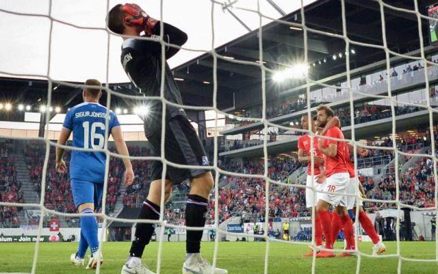 Suiza arrolla a Islandia en la Liga de Naciones de la UEFA - Foto de AFP