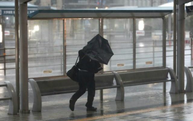 Tifón Trami deja 56 heridos y colapso de transportes en Japón - Foto de Internet