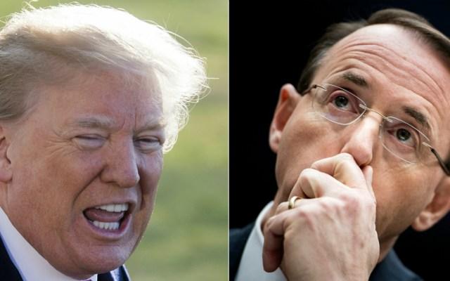 Trump recibirá a alto funcionario de Justicia que habría sugerido desplazarlo - Fotos de AFP
